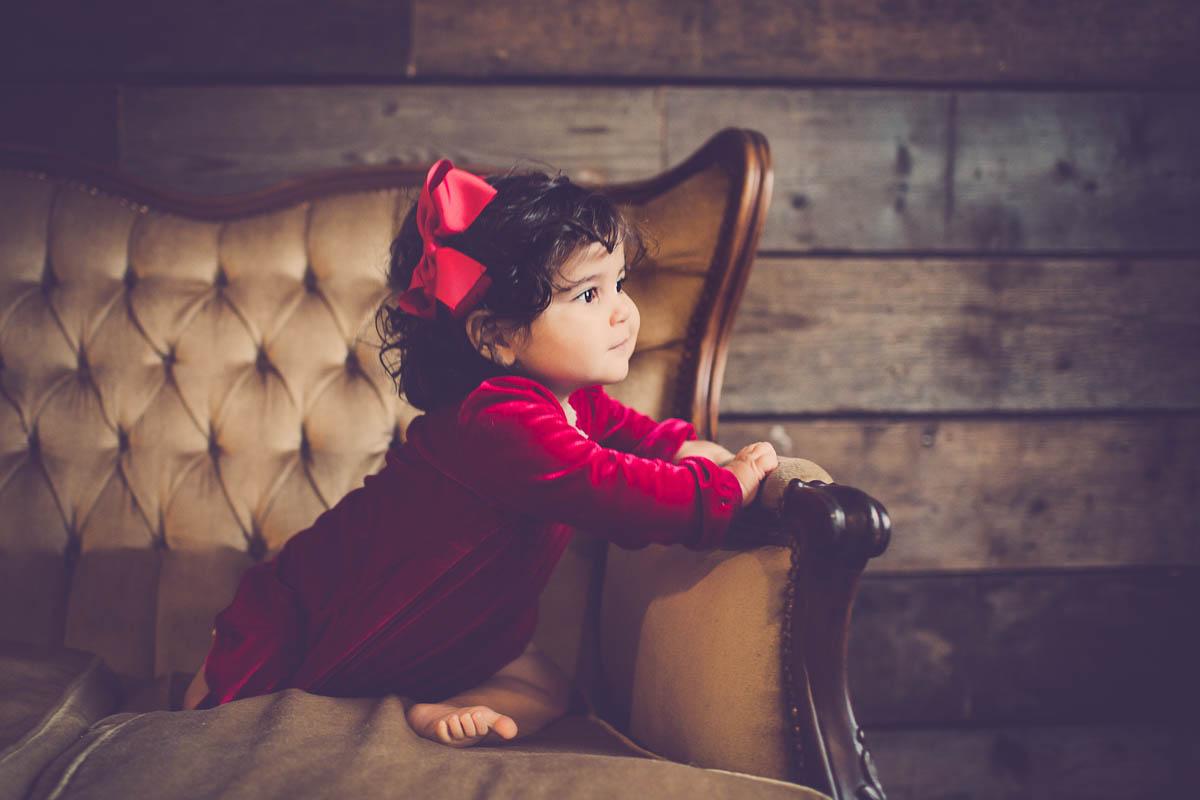 Tålmodig børnefotograf
